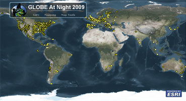 Globe at night maps and results to explore the 2009 data in more detail click the map below to launch the map viewer gumiabroncs Images