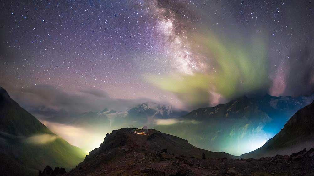Globe At Night Newsletter July - Map of light pollution us